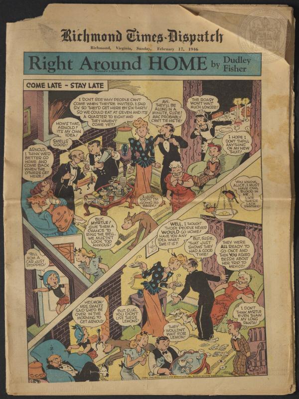 Richmond Times-Dispatch, February 17, 1946 | The